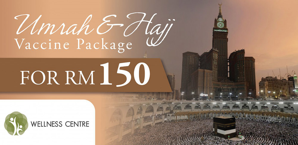 Umrah & Hajj Vaccine Package