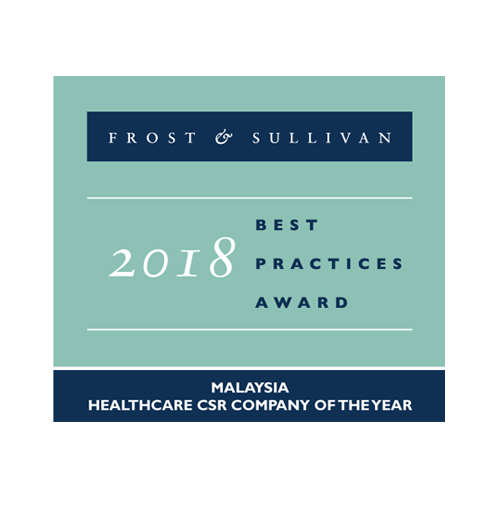 Malaysia Healthcare CSR Company  of the Year 2018