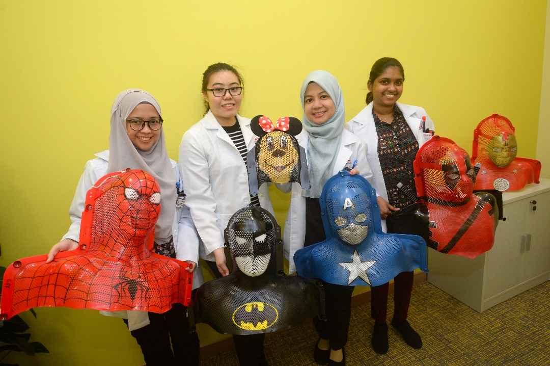 Talented Radiation Therapists Transform Radiotherapy Masks into Cancer Patients' Favourite Characters