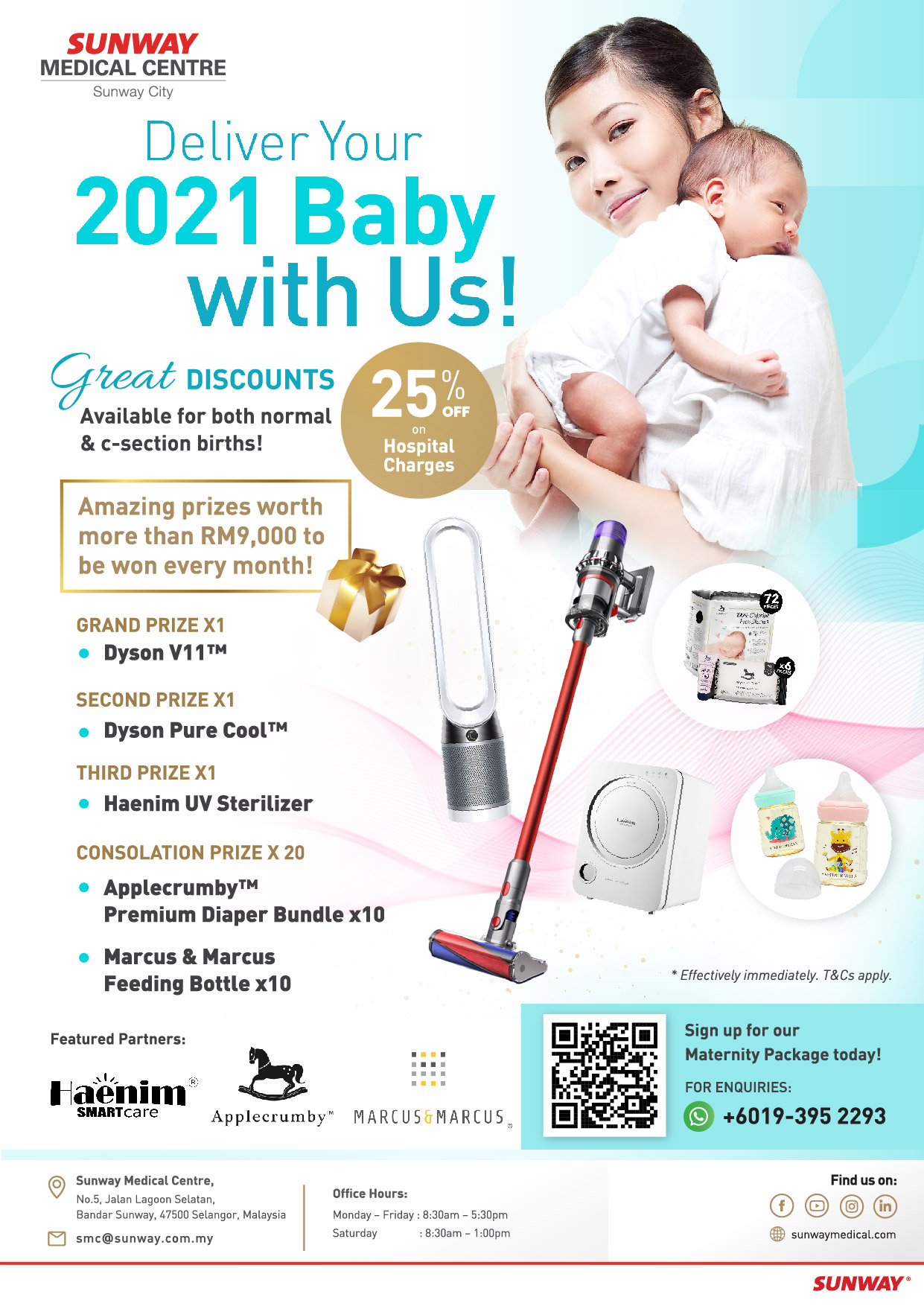 Deliver Your 2021 Baby with Us!