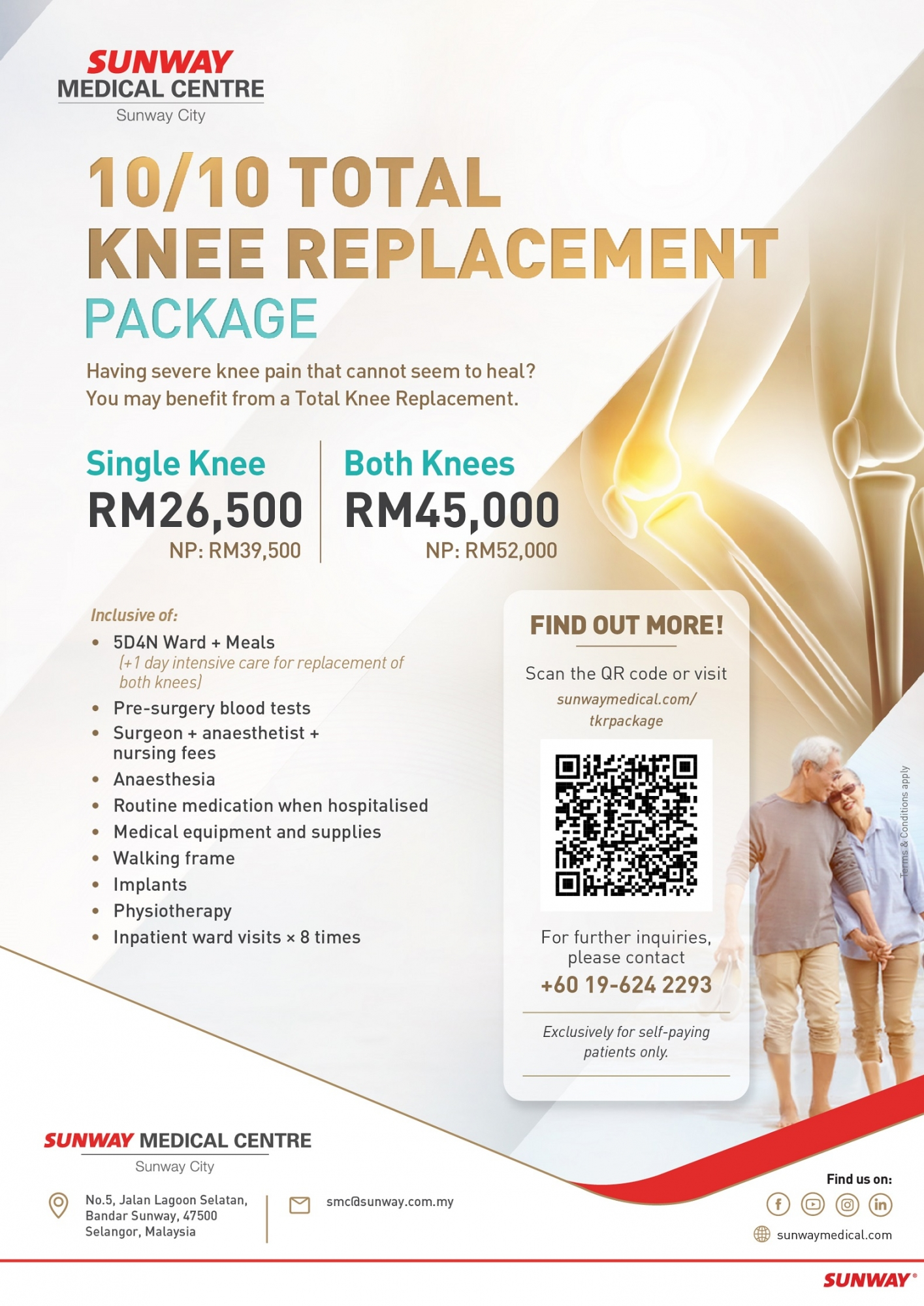 Total Knee Replacement Package